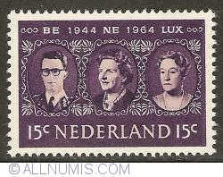 Imaginea #1 a 15 Cent 1964 - 20 Years of Benelux