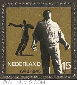 Image #1 of 15 Cent 1965 - Mari Andriessen - De Dokwerker (The Longshoreman), Amsterdam