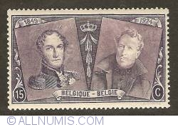 Image #1 of 15 Centimes 1925 - Leopold I and Albert I