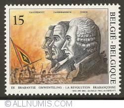 Image #1 of 15 Francs 1992 - Brabant Revolution