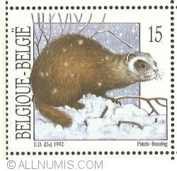 Image #1 of 15 Francs 1992 - European Polecat