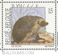 Image #1 of 15 Francs 1992 - Hedgehog