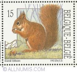 Image #1 of 15 Francs 1992 - Squirrel
