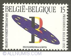 Image #1 of 15 Francs 1993 - Belgian Presidency of the European Union