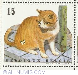 Image #1 of 15 Francs 1993 - European Cat