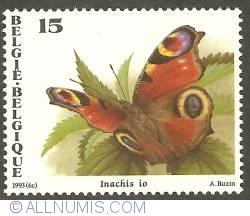 Image #1 of 15 Francs 1993 - Inachis io