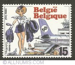 15 Francs 1993 - Natacha