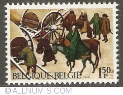 Image #1 of 1,50 Francs 1969 - Christmas - P. Brueghel the Elder : Census in Betlehem