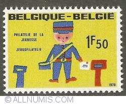 Image #1 of 1,50 Francs 1970 - Postman