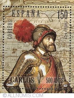 Image #1 of 150 Pesetas 2000 - Charles V