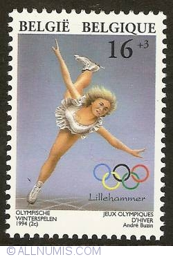 Image #1 of 16 + 3 Francs 1994 - Olympic Winter Games