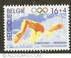 Image #1 of 16 + 4 Francs 1996 - Swimming