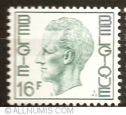 Image #1 of 16 Francs 1977 Baudouin I