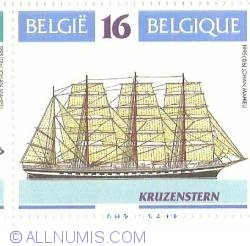 16 Francs 1995 - The Kruzenshtern - Russian