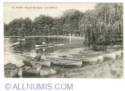 Image #1 of Paris - Bois de Boulogne - Lac Inférieur (1919)