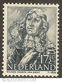 Image #1 of 17 1/2 Cent 1943 - Willem van Ghent