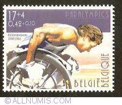 Image #1 of 17 + 4 Francs / 0,42 + 0,10 Euro 2000 - Paralympics