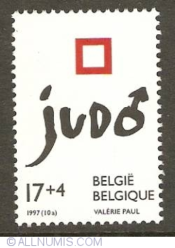 Image #1 of 17+4 Francs 1997 - European Men Judo Championships