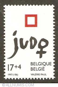 Image #1 of 17+4 Francs 1997 - European Woman Judo Championships