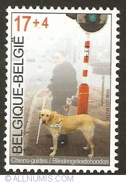 Image #1 of 17 + 4 Francs 1998 - Guide Dogs