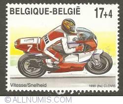 Image #1 of 17 + 4 Francs 1999 - Motor racing