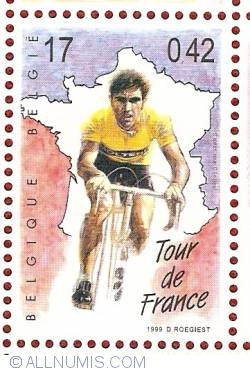 Image #1 of 17 Francs / 0.42 Euro 1999 - Eddy Merckx