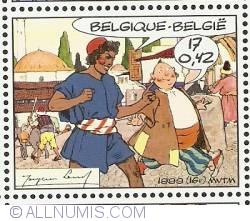 17 Francs / 0.42 Euro 1999 - Hassan & Khadour
