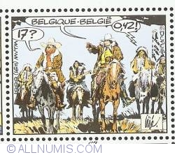 Image #1 of 17 Francs / 0.42 Euro 1999 - Jerry Spring