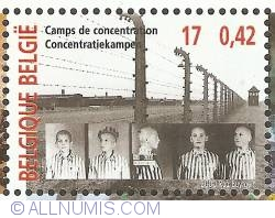Image #1 of 17 Francs / 0,42 Euro 2000 - Concentration Camp
