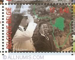 Image #1 of 17 Francs / 0,42 Euro 2000 - Decolonisation