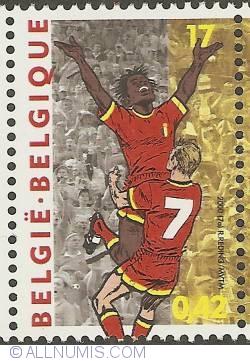 Image #1 of 17 Francs / 0,42 Euro 2000 - E.C. Soccer