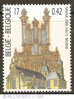 Image #1 of 17 Francs / 0,42 Euro 2000 - Organ of the Church Our Lady of the Assumption - Ninove