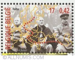 Image #1 of 17 Francs / 0,42 Euro 2000 - Yalta