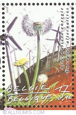 Image #1 of 17 Francs / 0,42 Euro 2001  - Renewable Energy