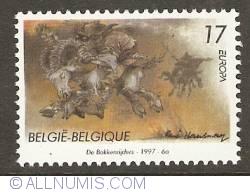 Image #1 of 17 Francs 1997 - Buckriders