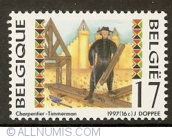 17 Francs 1997 - Carpenter