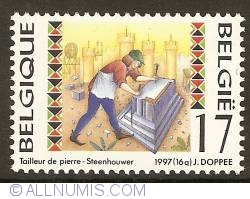 Image #1 of 17 Francs 1997 - Stonecutter