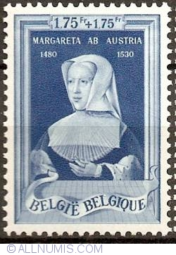 Image #1 of 1,75+1,75 Francs 1941 - Margaret of Austria