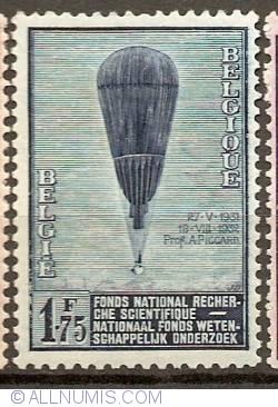Image #1 of 1,75 Francs 1932 - Ballon Piccard