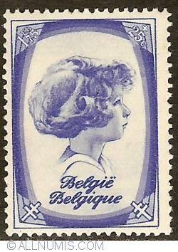 Image #1 of 1,75 Francs + 25 Centimes 1938 - Prince Albert