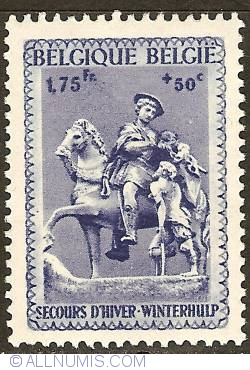 Image #1 of 1,75 Francs + 50 Centimes 1941 - Winter Help - St. Martin