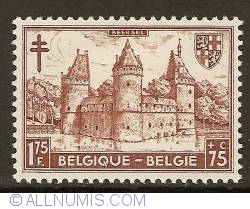 Image #1 of 1,75 Francs + 75 Centimes 1951 - Castle of Beersel