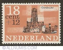 Image #1 of 18 + 12 Cent 1965 - Dordrecht