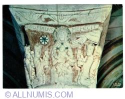 Image #1 of Chauvigny (Vienne) - Church Saint-Pierre (1987)