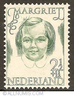 Image #1 of 2 1/2 + 1 1/2 Cent 1946 - Princess Margriet