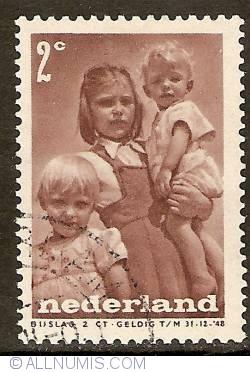 Image #1 of 2 + 2 Cent 1947 - Children