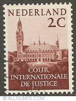 Image #1 of 2 Cent 1951 - Palace of Peace The Hague