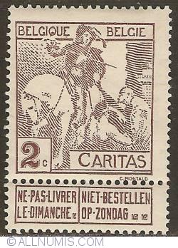 Image #1 of 2 Centimes 1910 - Anthony van Dijck - Saint Martin