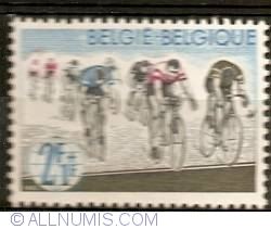 Image #1 of 2+1 Franc 1963 - Cycling