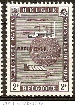 Image #1 of 2 Francs 1958 - UNO - World Bank